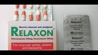 معلومات عن دواء Relaxon ريلاكسون مرخي العضلات موسوعة