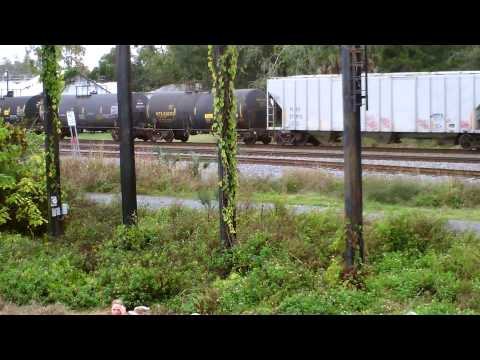 CSX 7795, 4011 Southbound in Ocala at TTC Event