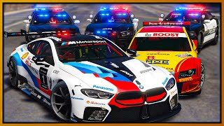 GTA 5 Roleplay - WORLDS FASTEST RACE CARS EMBARRASING COPS | RedlineRP