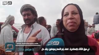 فيديو|عيد الاضحي 2016.. جزارون بالإسكندرية: العلف