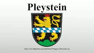 Pleystein