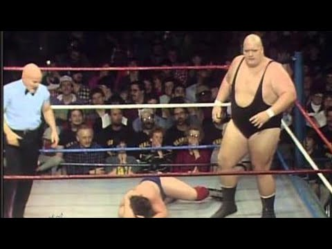 King Kong Bundy makes his WWE debut: Championship Wrestling, March 16, 1985