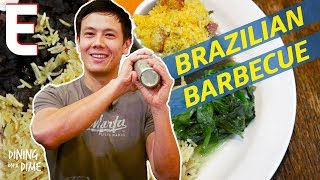 Lucas Peterson's Brazilian Feast at Carioca London — Dining on a Dime