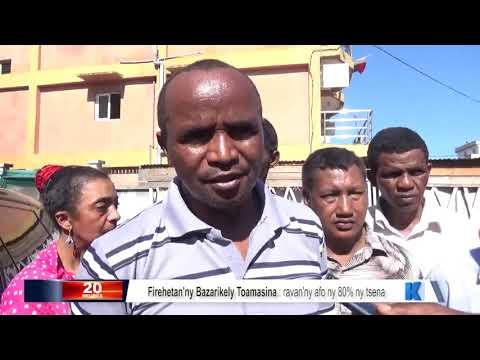 INFO K MADA Tsena may Toamasina DU 22 JUILLET 2019 BY KOLO TV