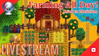 Lest Farm All Day, Stardew Valley | Road to 200 Subs