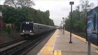 Metro-North Harlem Line Action at Crestwood, Fleetwood and Mount Vernon West