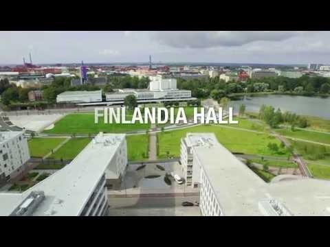 Finlandia Hall - in the heart of Helsinki