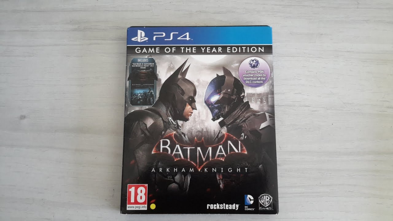 Batman: Arkham Knight - Game of the Year Edition - FAQ ...