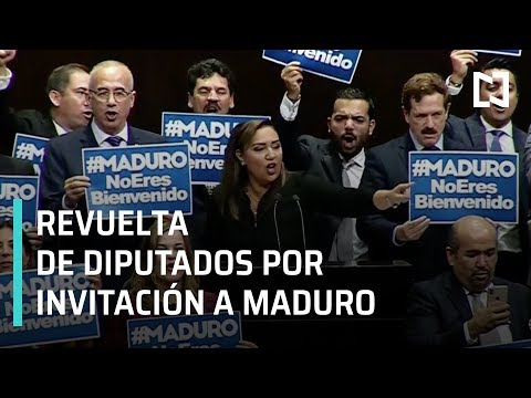 Invitación a Maduro a toma de posesión de AMLO confronta a diputados - En Punto con Denise Maerker