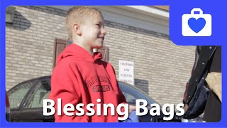 7-Year-Old Gives Bags Full Of Blessings To The Homeless