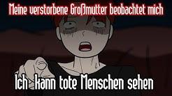 Ich  kann tote Menschen sehen (Real Scary Animation-German /Horror story anime -Deutsch)