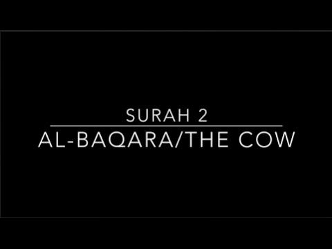The Quran - English Translation Surah 2 Al-Baqara/ The Cow