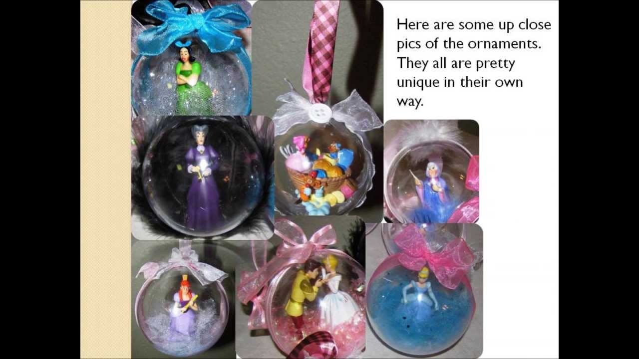 diy disney christmas ornaments - Disney Themed Christmas Decorations