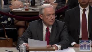 Sessions explains circumstances of recusal | Sessions testifies before Senate committee