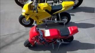 24 volt, 36 volt, and 48 volt Electric Motorcycles
