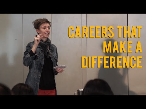 Careers That Make A Difference | Rebecca Scott | Melbourne International Student Conference 2016