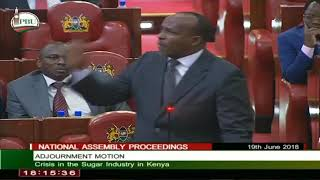 National Assembly Majority Leader Aden Duale (Garissa Township) pro...