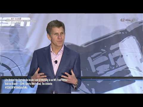 SSAC18: Life Behind the Curtain An Inside Look at Working NFL Front Office