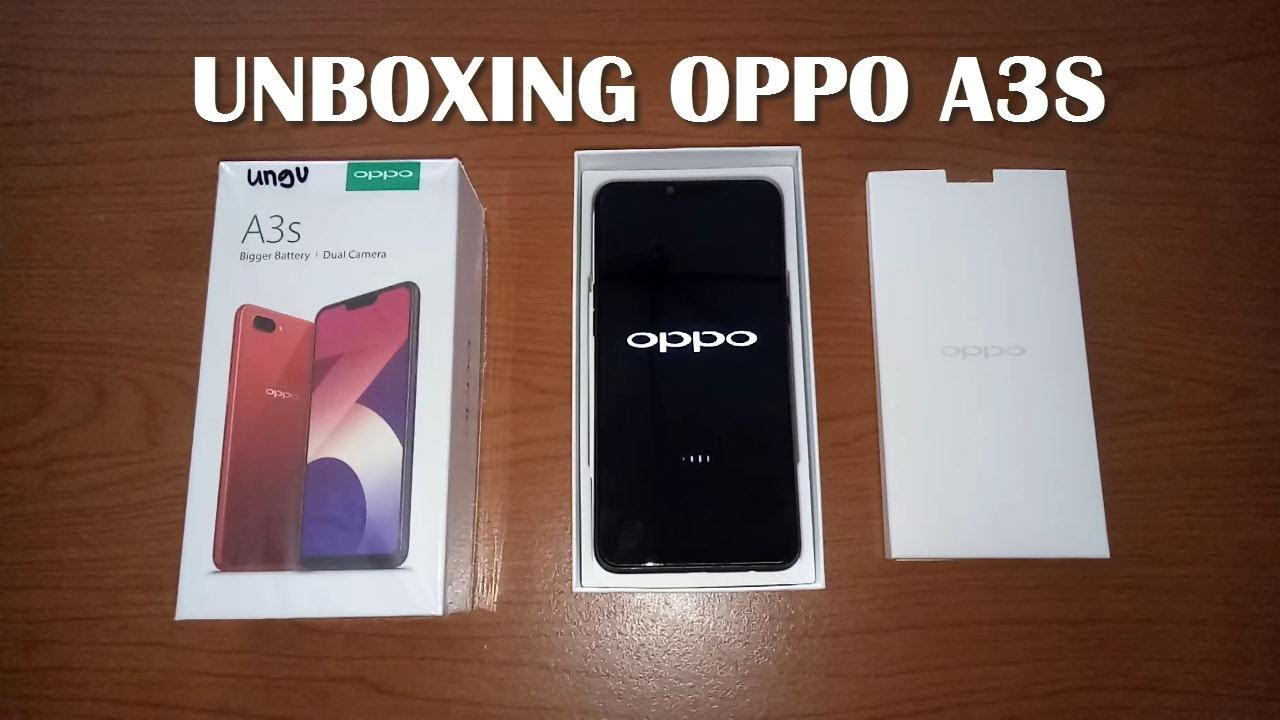Unboxing Oppo A3s Ram 2gb Internal 16 Gb Purple 2