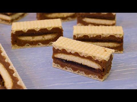 Wafer biscuit Jaffa