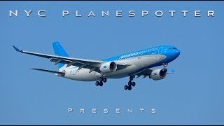 "NYC Planespotter Presents: ""Spotting JFK Runway 31R, 4R Arrivals"" ✈ (4K) No. 112"
