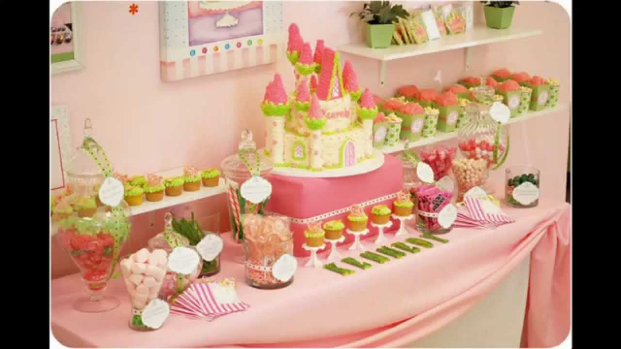 At Home Princess Themed Party Food Ideas