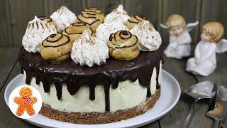 "Торт с Профитролями ""Шоколадные Облака"" ✧ ""Chocolate Clouds"" Profiterole Cake (English Subtitles)"