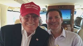 Donald Trump Takes Bloomberg's Halperin, Kids for Iowa Fly-over
