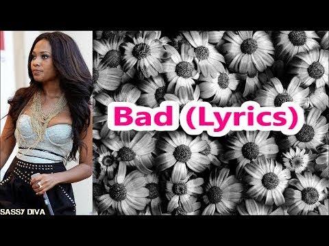 Teairra Mari - Bad (Lyrics)