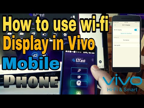 How to Connect Vivo Wifi display feature