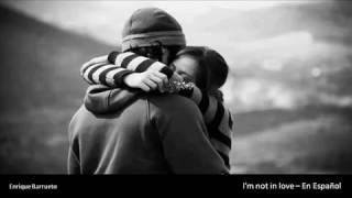 """""""I'm Not in Love"""" es una canción escrita por Eric Stewart y Graham ..."""