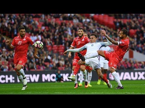 England v Malta - key match stats