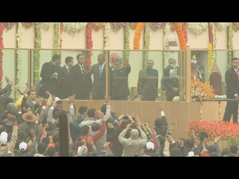 Obama Guest of Honor at India's Republic Day Festivities