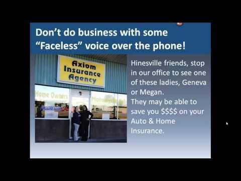 Auto & Home Insurance in Hinesville, GA