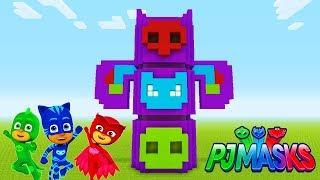 "Minecraft Tutorial: How To Make The PJ Masks Headquarters ""PJ Masks"""