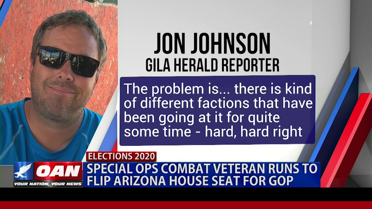 Special ops combat veteran runs to flip Ariz. House seat for GOP