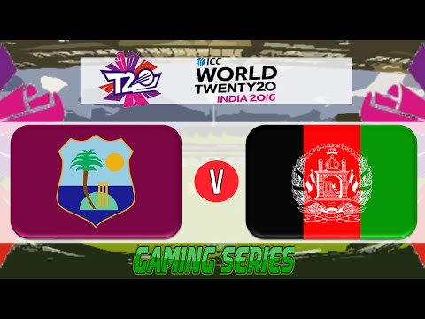 (GAMING SERIES) ICC T20 WORLD CUP 2016 – WEST INDIES v AFGHANISTAN GROUP 1 MATCH 19