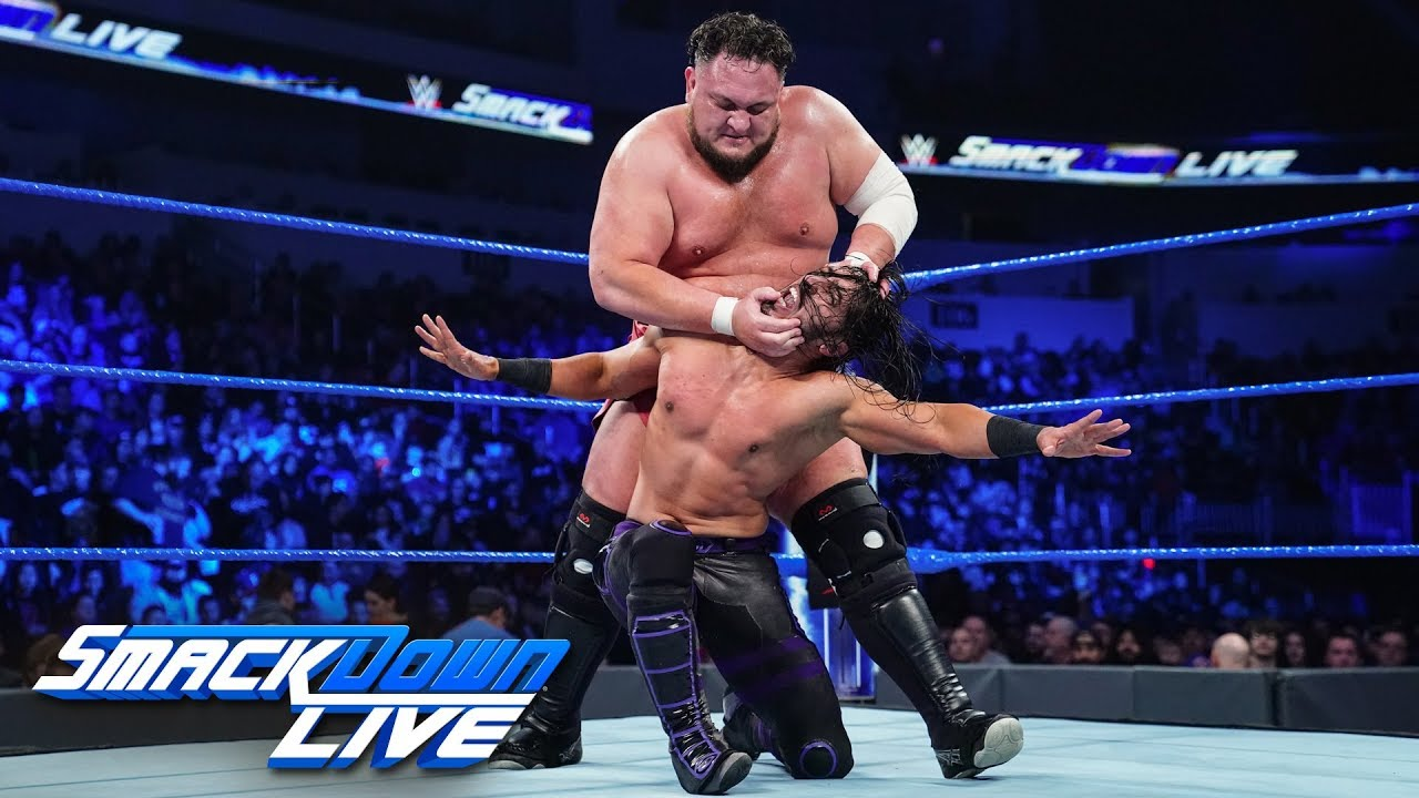 Mustafa Ali vs. Samoa Joe: SmackDown LIVE, Jan. 22, 2019