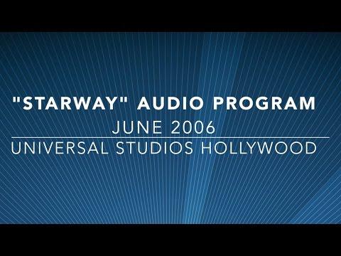 Starway Escalator Audio Program - Universal Studios Hollywood