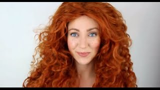 Brave Merida MakeUp Tutorial Transformation