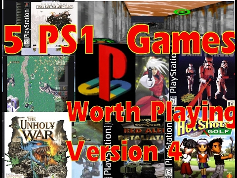 Five PS1 Games Worth Playing: Version 4