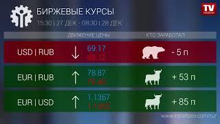 InstaForex tv news: Кто заработал на Форекс 28.12.2018 9:30