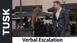 Lithuanian Girl Rejection - Verbal Escalation How? (Daygame Infield)
