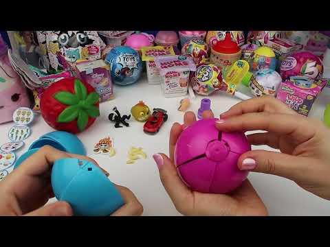 5 Sürprizli Portakal ZURU Kızlar vs Erkekler Challenge New 5 Surprise Toys With Bidünya Oyuncak