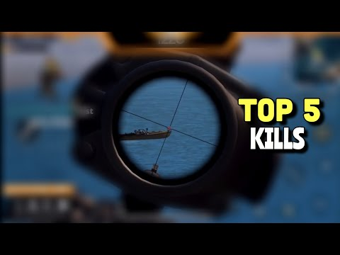 TOP 5 KILLS | PUBG Mobile | EP2