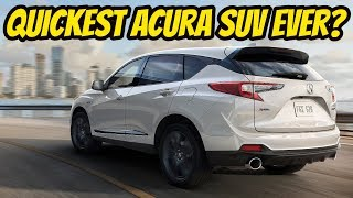 DETAILS | 2019 Acura RDX & A-SPEC - Fastest Acura SUV ever?