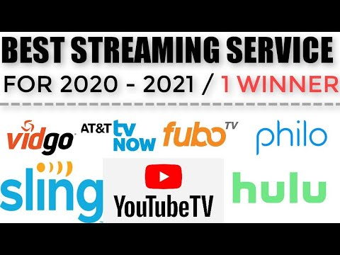 Best Streaming Services 2021 Which Streaming Service is the Best in 2020   2021? Youtube TV
