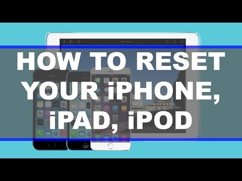 How To Fully Reset Your Iphone Ipad Itouch