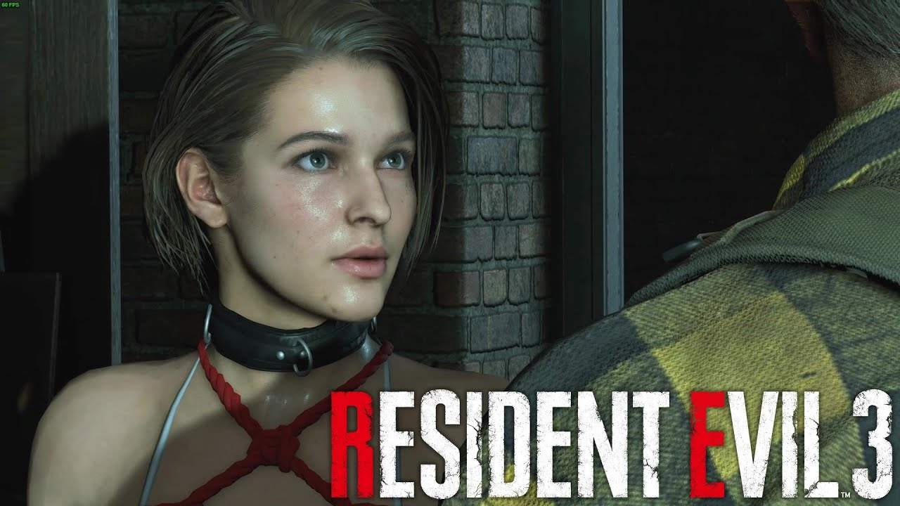 ️ Resident Evil 3 Remake INTRO Jill Valentine Red Bikini 😍