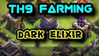 TH9 Dark Elixir Farming Army 2017 - Dragloonion | Clash Of Clans